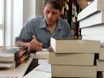 24.6.2013: Der Stift glüht in der Buchhandlung Exlibris, Mainz-Bretzenheim.