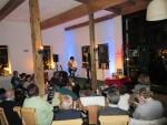 12.3.2016: Musikalische Lesung in Herbers Kulturscheune in Saulheim.