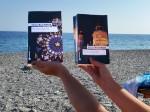"""22.8.2014: Eine gute Freundin hat ihren """"Schand-Schnappschuss"""" aus Griechenland geschickt."""