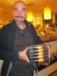 2.10.2013: Thorsten, ein langjähriger Kollege, beim Großeinkauf.