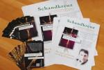 11.1.2016: Karten und Poster fürs neue Buch.