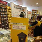 5.5.2017: Majas großer Auftritt im Buchladen.